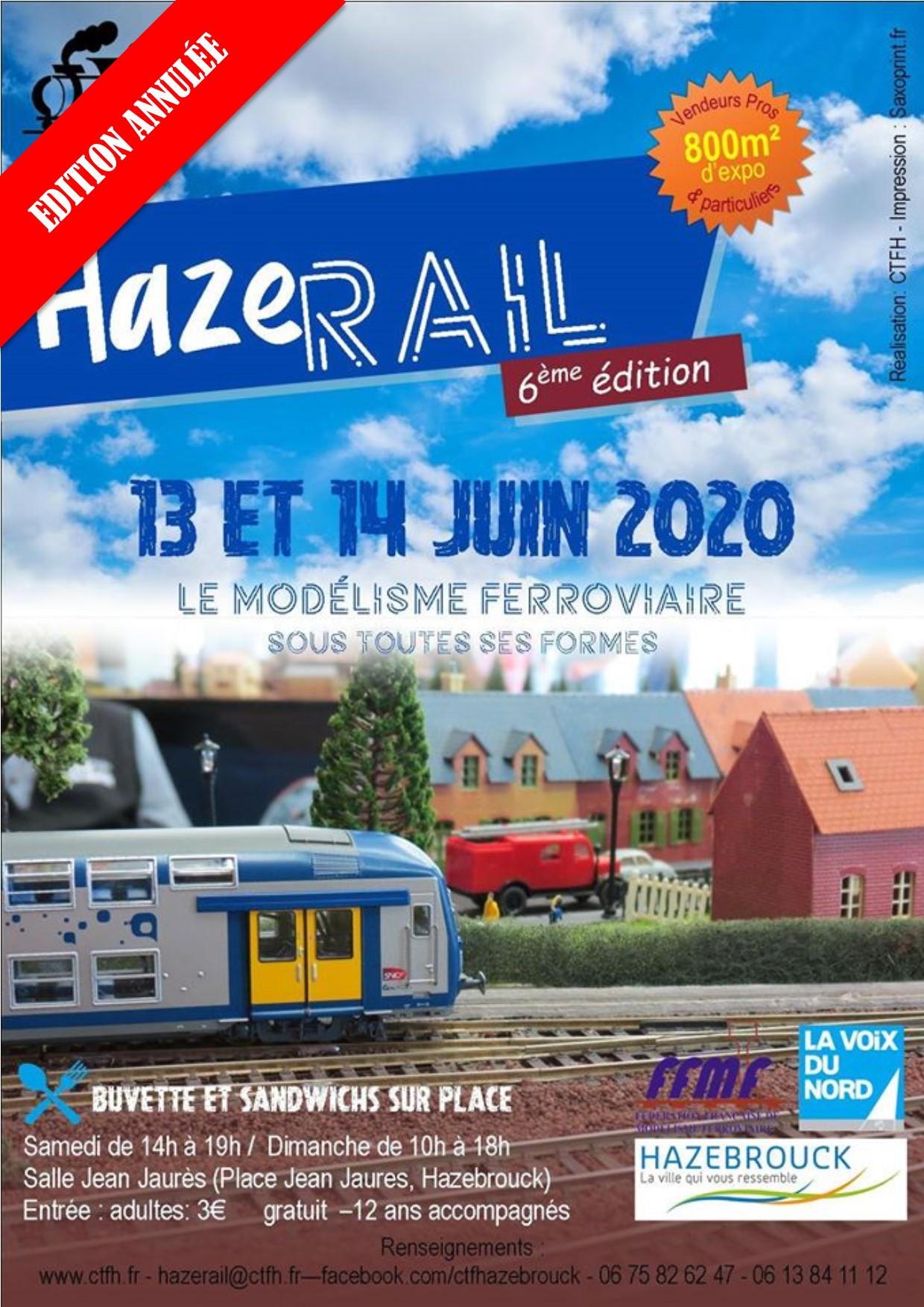 Hazerail 2020 – ANNULATION