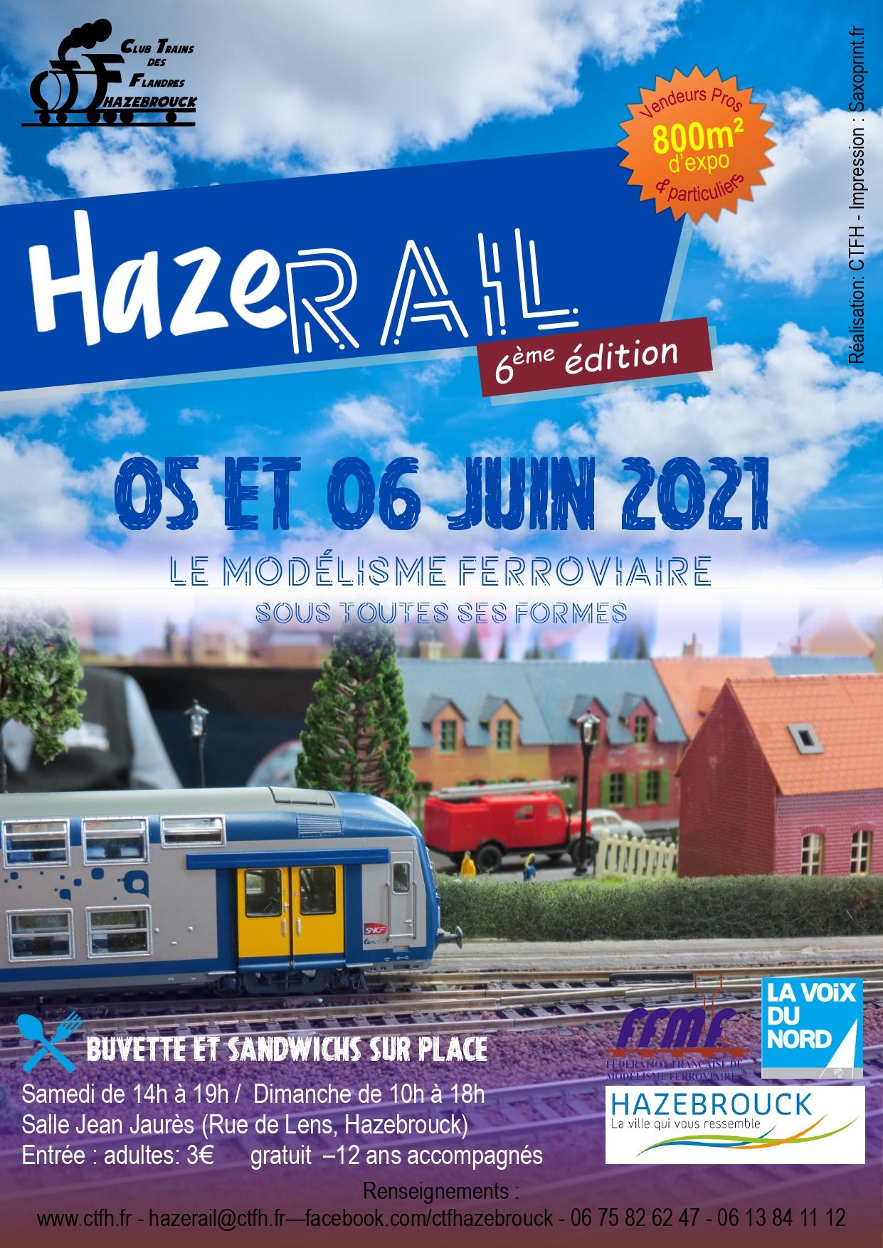 HAZERAIL 2021 – ANNULÉE
